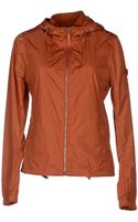 Piquadro Hooded Zipped Jacket - Lyst