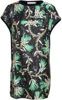Mary Katrantzou Embellishment Printed Knit Tunic - Lyst