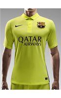 Nike Mens Fc Barcelona 15 3rd Short Sleeved Stadium Shirt - Lyst