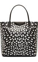 Givenchy Black and White Animal Spot Medium Antigona Shopping Tote - Lyst