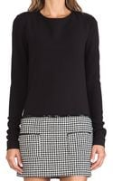 Rachel Zoe Addie Houndstooth Dress - Lyst