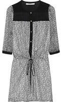 Diane Von Furstenberg Marcy Printed Silk chiffon Dress - Lyst