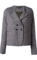 Cotélac Jacquard Double Breasted Jacket - Lyst