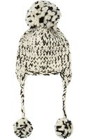 Eugenia Kim Skye Chunky-knit Wool and Alpaca-blend Beanie - Lyst