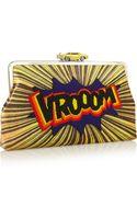 Sarah's Bag Vroom Embellished Velvet Clutch - Lyst
