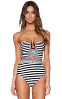 Nanette Lepore Merengue Seductress One Piece Swimsuit - Lyst