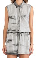 Enza Costa Sleeveless Romper - Lyst