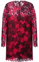 Valentino Floral Embroidered Dress - Lyst