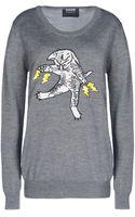 Markus Lupfer Long Sleeve Sweater - Lyst