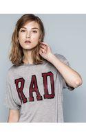 Pull&Bear Printed Tshirt - Lyst
