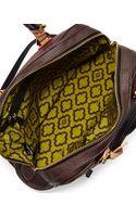 Oryany Kendall Tonal Leather Satchel Bag - Lyst
