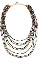 Nakamol Beaded Multi-strand Tiered Necklace - Lyst