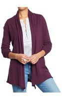 Old Navy Shawl-collar Open-front Cardis - Lyst