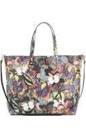 Valentino Camu Butterfly Medium Shopper - Lyst