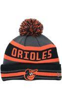 New Era Baltimore Orioles Jake Graphite Knit Hat - Lyst