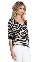 Sanctuary Tigress Sweater in Black - Lyst