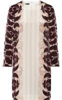 Mother Of Pearl Edie Printed Silk Crepe De Chine Dress - Lyst