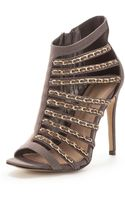 Little Mistress Cut Out Shoe Boots - Lyst