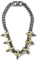 Mawi Embellished Chain Necklace - Lyst