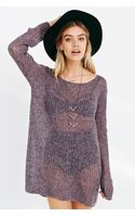 Kimchi Blue Delicate Off-the-shoulder Sweater - Lyst