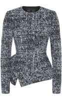 Proenza Schouler Tweed Peplum Jacket - Lyst