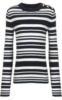 Joseph Stripe Sailor Sweater - Lyst