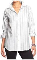 Old Navy Boyfriend Oxford Shirts - Lyst