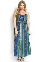 Forever 21 Well Traveled Maxi Dress - Lyst