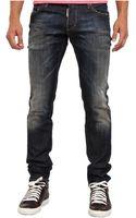 DSquared2 Black Wash Slim Jean - Lyst