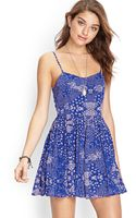 Forever 21 Abstract Spotted Cami Dress - Lyst