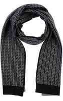 Versace Oblong Scarf - Lyst