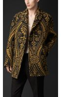 Burberry Brocade Needlepunch Jacket - Lyst