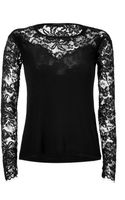 Ermanno Scervino Lace Top - Lyst
