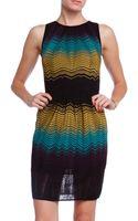 M Missoni Sleeveless Dress - Lyst