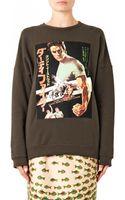 Stella Jean Drunia Clint Eastwood-print Sweatshirt - Lyst