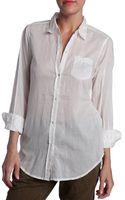 Nili Lotan Button Down Shirt - Lyst
