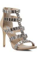 Steve Madden Famme Embellished Sandals - Lyst