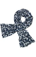 Tory Burch Thistle Printed Jacquardt Scarf - Lyst