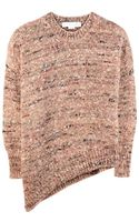 Stella McCartney Asymmetric Wool Blend Sweater - Lyst