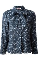 See By Chloé Star Print Blouse - Lyst