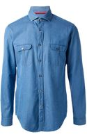Boss by Hugo Boss Denim Shirt - Lyst