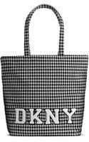 DKNY Wool Tote - Lyst