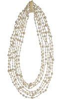 Rosantica White Pearl Pegaso Necklace - Lyst