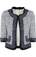 Oscar De La Renta For The Outnet Cottonblend Tweed Jacket - Lyst