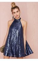 Nasty Gal Niki Shift Sequin Dress - Lyst