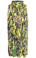 H&M Patterned Maxi Skirt - Lyst