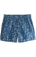 J.Crew Anchor Boxers - Lyst