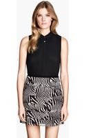 H&M Tiered Skirt - Lyst