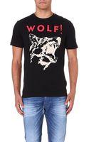 Diesel T-kesar Cotton-jersey T-shirt - Lyst