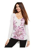 Inc International Concepts Daisy-print Tee - Lyst